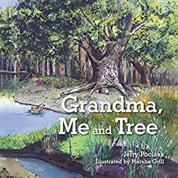 Jerry Grandma me and tree