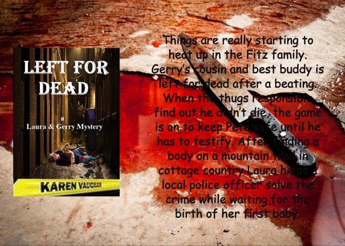 Karen left for dead with blurb