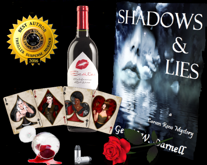 Ger shadows and lies with card