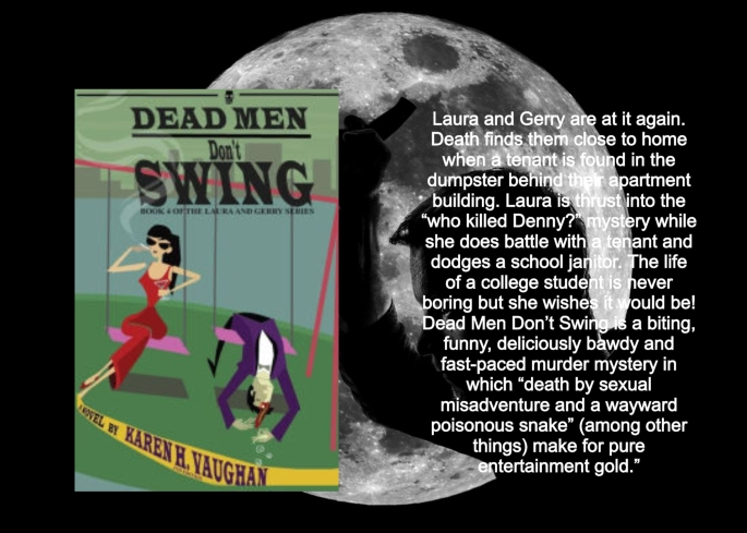 Karen dead men don't swing blurb
