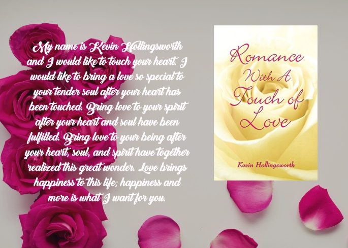Kevin romance with a touch of love blurb.jpg