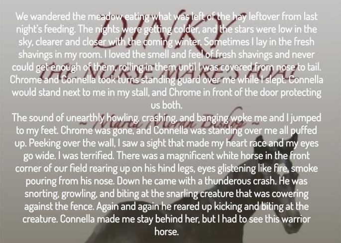 Marta dinky the nurse mares foal excerpt.jpg