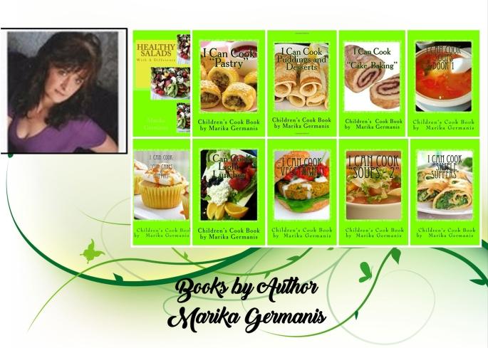 Marika 10 books collage
